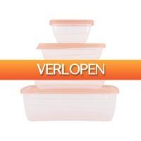 HEMA.nl: Bewaardozen set 20 stuks