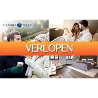 SocialDeal.nl: Overnachting voor 2 personen bij Fletcher Hotels