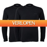 Plutosport offer: 2 x Campri Basic thermo longsleeve Heren