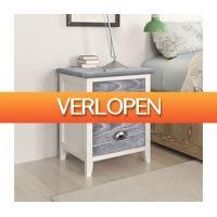 VidaXL.nl: 2 x vidaXL nachtkastje met 2 lades