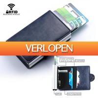Dennisdeal.com: PU lederen cardprotector