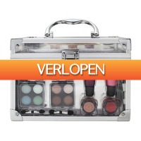 Superwinkel.nl: Make-up set doorzichtige koffer
