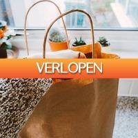 Dealbanana.com: Bruine herbruikbare papieren tassen