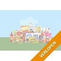 Veiling: Monsterdoos met 22 producten thuisbezorgd