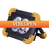 ClickToBuy.nl: Oplaadbare LED-schijnwerper
