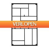 Xenos.nl: Wandrek XL met clips