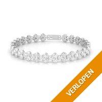 Veiling: Armband Joyfull met zirkonia diamantjes (18 K witgoud)