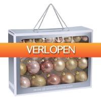 Stuntwinkel.nl: 52-delige glazen kerstballen set