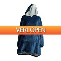 Xenos.nl: Huggle hoodie - blauw - one size