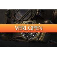 VakantieVeilingen: Veiling: Herenhorloge van Alpha Sierra (model: Defcon - LGM62AL)