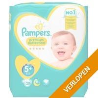 20 x Pampers Premium Protection baby luiers maat 5+