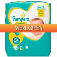 Voordeeldrogisterij.nl: 20 x Pampers Premium Protection baby luiers maat 5+