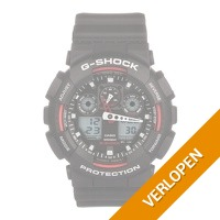Casio G-Shock Black Chronograph GA-100-1A4ER herenhorloge