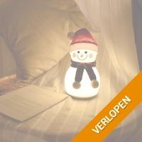 LED lamp sneeuwpop