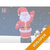 Opblaasbare kerstman - 180 cm