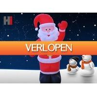 DealDonkey.com: Opblaasbare kerstman - 180 cm