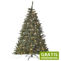 Gamma.nl: Kunstkerstboom Helsinki 210 cm met LED verlichting