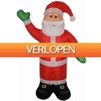Voordeeldrogisterij.nl: Kerstman opblaasbaar 180 cm