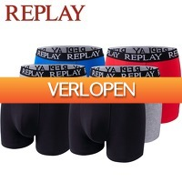 ElkeDagIetsLeuks: 3 x Replay boxershort
