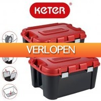 One Day Only: 2 x Keter opbergbox Totem