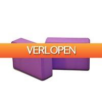 Betersport.nl: 2 x Yoga Blok
