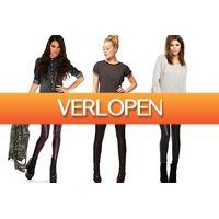 VoucherVandaag.nl: Leather look legging