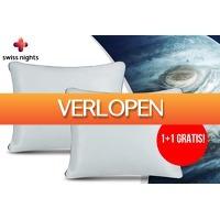 VoucherVandaag.nl: Swiss Nights NASA traagschuim hoofdkussen