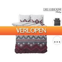 iBOOD Home & Living: Dreamhouse dekbedovertrek flanel