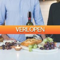 Dealbanana.com: Slimme vacum wijnfles afsluitdop