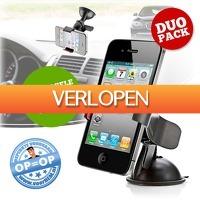 voorHEM.nl: 2 x universele smartphone houder