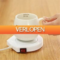 Dealbanana.com: Elektrische koffiemok verwarmer