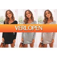 VoucherVandaag.nl: Basic sweater dress