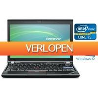 Telegraaf Aanbiedingen: Refurbished Lenovo Laptop X220