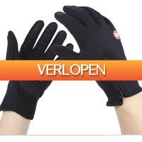 Uitbieden.nl: Thermische touchscreen handschoenen