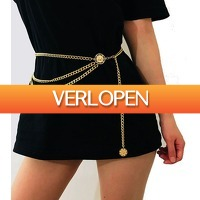 Uitbieden.nl 2: Chain belt in goud of zilver