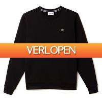 Plutosport offer: Lacoste Men's Sport Crewneck Fleece Tennis Sweatshirt