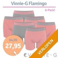 Vinnie-G boxershorts Flamingo 6-pack