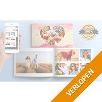 Printerpix fotoboek met harde kaft