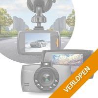 LCD Dashcam met extreem hoge beeldkwaliteit! Voorkom discussie bij aanrijdingen