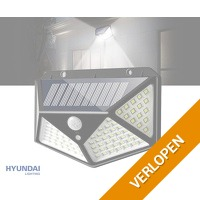 Wandlamp op zonne-energie met sensor