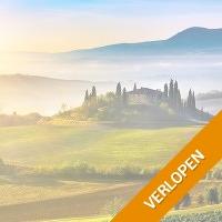 8, 11 of 15-daagse fly and drive door Toscane en Umbrie