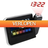 CheckDieDeal.nl: Weerstation met digitale klok projector
