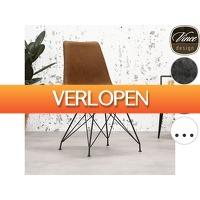 iBOOD Home & Living: 2 x Vince Design Eetkamerstoelen Jude