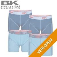 4 x British Knight boxershorts