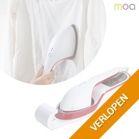 MOA draagbare kledingstomer en strijkijzer
