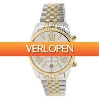 Watch2day.nl: Michael Kors Lexington Chronograph MK8446