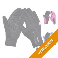 Bull Performance Softshell touchscreen handschoenen