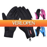 CheckDieDeal.nl: Bull Performance Softshell touchscreen handschoenen