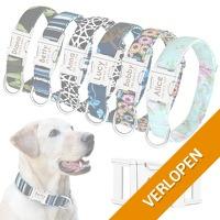 Gepersonaliseerde hondenhalsband