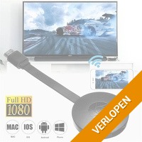 Wireless HDMI dongle media streamer